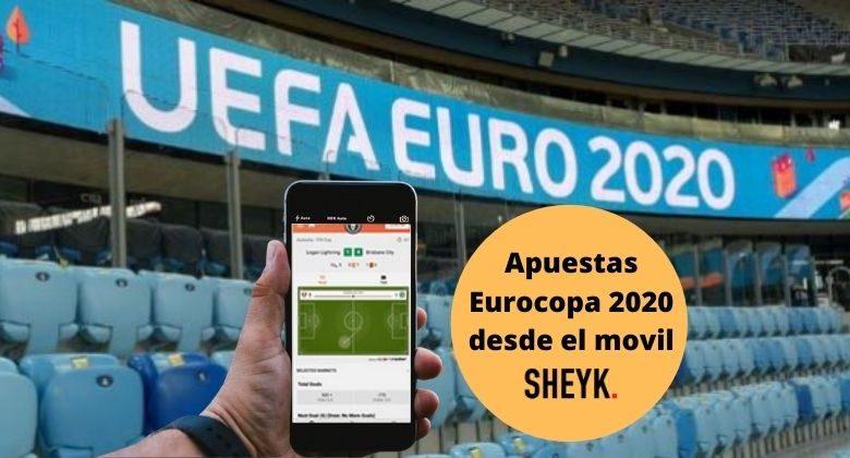 Apuestas Eurocopa con el movil